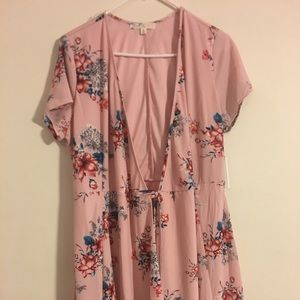 Dresses & Skirts - Cloudy Sky Women's wrap dress